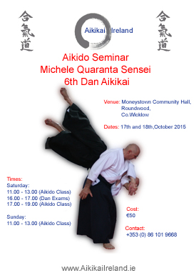 Michele Quaranta Shihan Wicklow Oct 2015